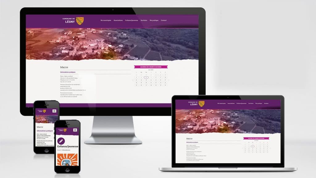 création site internet Legny