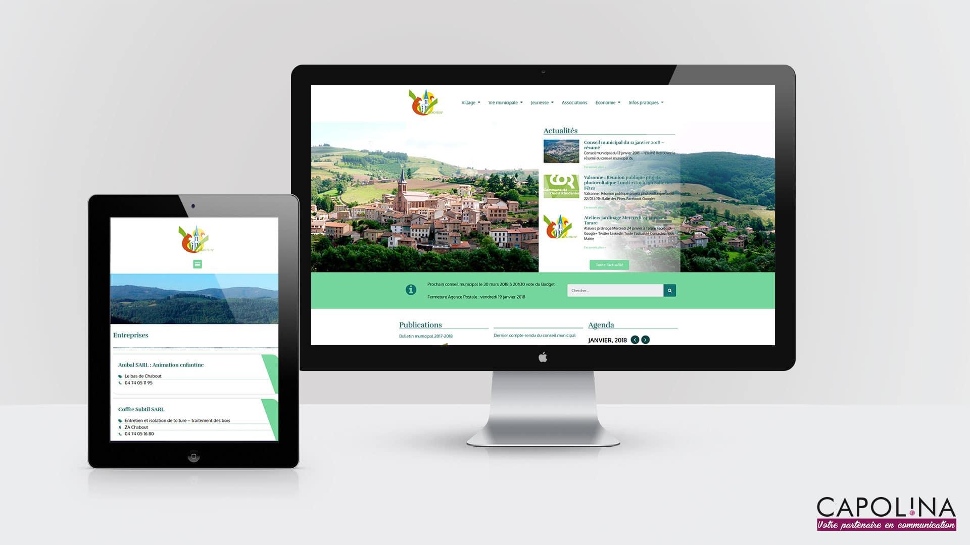 creation site internet mairie petite commune