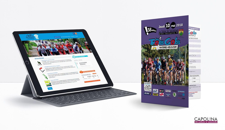 creation site web club sportif programme course